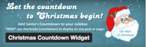 PlugIn, zählt die Tage bis Weihnachten